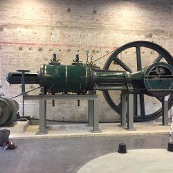 """Dampfmaschine """"Flottmann"""" von 1920"""